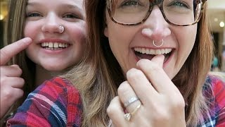 we got nose rings