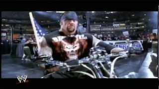 The Undertaker Biker Entrance - BEHIND THE SCENES of WRESTLEMANIA 19