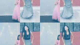 Indian Vs Pakistani girls dance compitition on long luchi