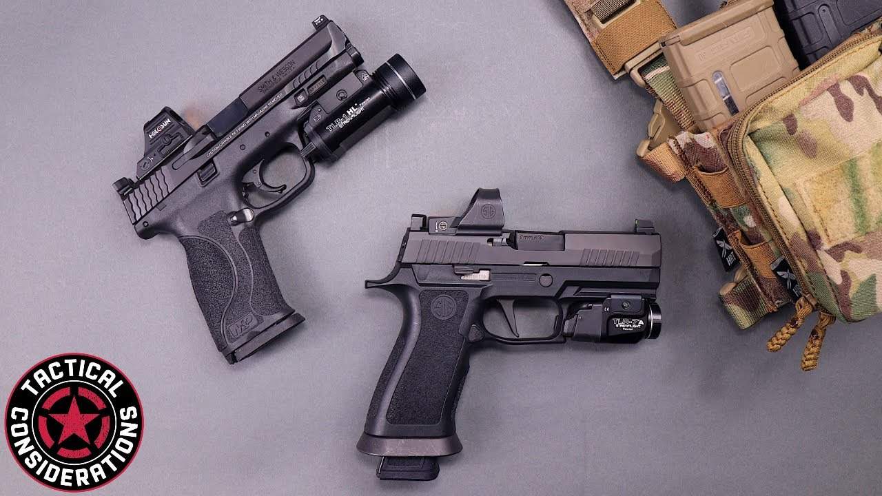 M&P CORE VS Sig Rxp X Series What Is The Best Pistol New Owners Guide
