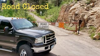 The Road Is Closed ~ Rocky Mountain National Park #371