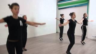 Студия Актер  Окрытый урок  Экзамен по танцу  Педагог  Делятицкая  Г А 11