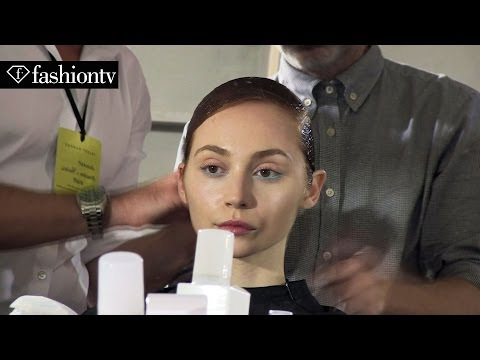 Talbot Runhof Spring/Summer 2014 Hair & Make Up | Paris Fashion Week | FashionTV