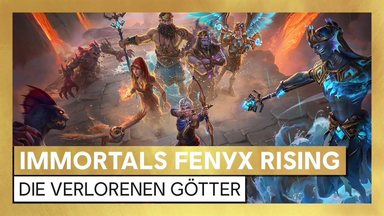 Immortals Fenyx Rising: Die verlorenen Götter - Launch-Trailer deutsch | Ubisoft