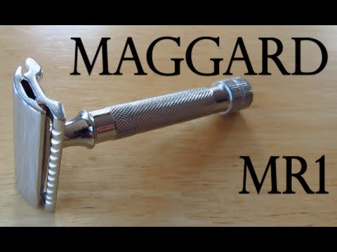 maggard mr1 safety razor youtube