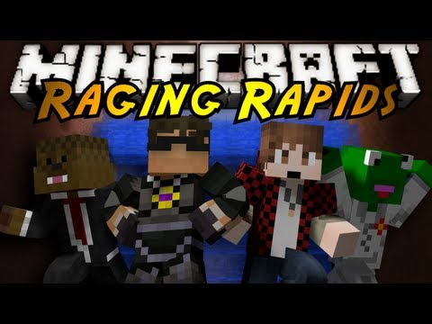 Minecraft Mini-Game : RAGING RAPIDS!
