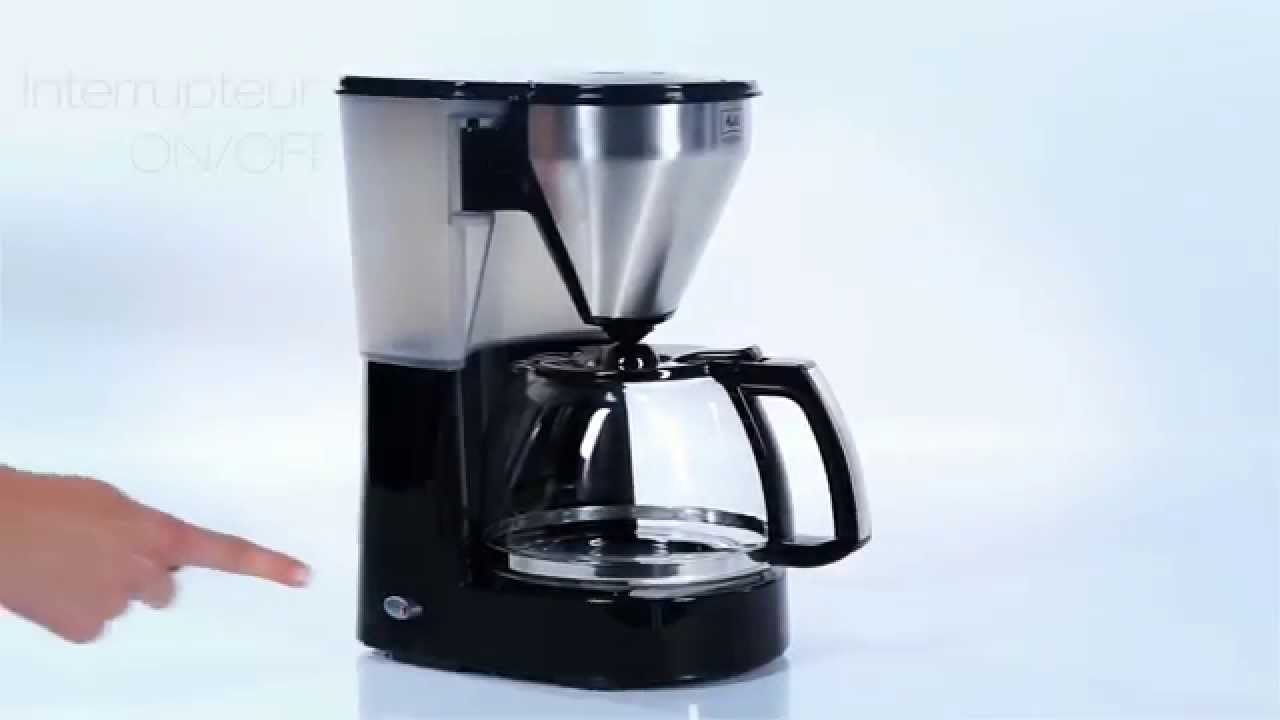 melitta cafetire easy top