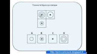 Test de raisonnement logique avec des figures expliqué