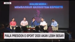 Piala Presiden E-Sport 2020 Akan Lebih Besar