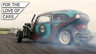 Drift Rod = Saab power + Ford Body: Meet Urchfab - Carfection