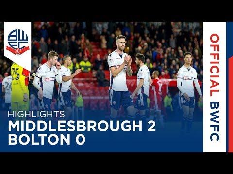 HIGHLIGHTS | Middlesbrough 2-0 Bolton