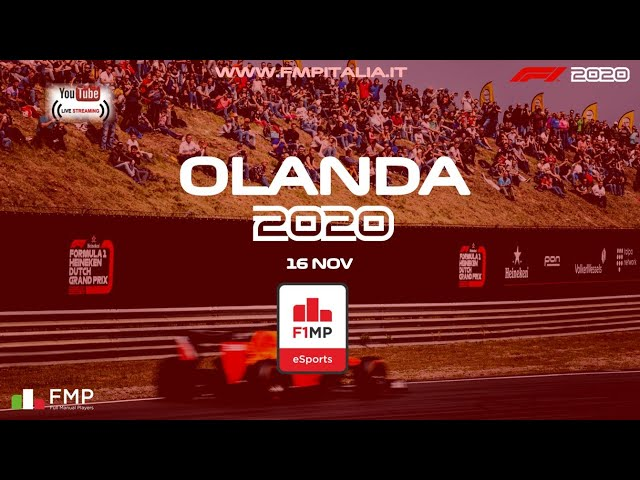 F1MP | #5 OLANDA | FMP ITALIA