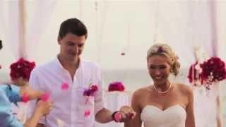 Свадьба на Бали на роскошной вилле у океана. Wedding in Bali - MIX Bali Events(Шикарный видео-ролик Свадьбы