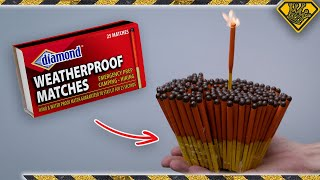 Can We Light Waterproof Matches UNDERWATER?!?