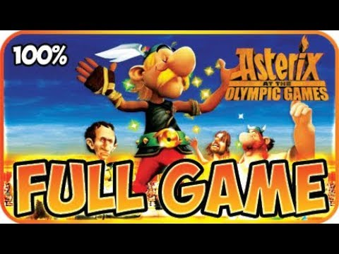Asterix At The Olympic Games Walkthrough 100 Full Game Longplay X360 Wii Ps2 Youtube