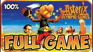 Asterix at the Olympic Games Walkthrough 100 FULL GAME Longplay (X360, Wii, PS2)