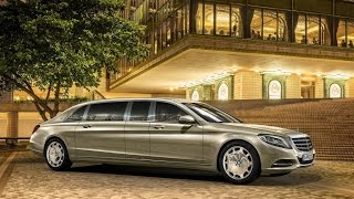 2016 Mercedes-Maybach S600 Pullman Trailer
