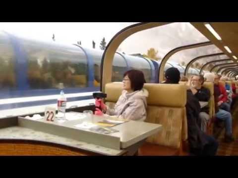 2014 0913 Denali to Whittier via Princess Glass Top Train