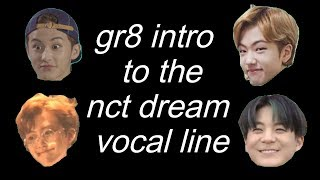 nct dream parallel universe: intro to the vocal line