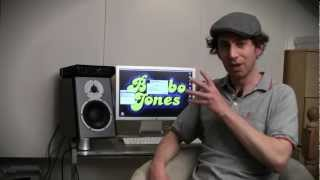Video Marc JB from Bimbo Jones and his DBM50 monitors from Dynaudio Professional download MP3, 3GP, MP4, WEBM, AVI, FLV Oktober 2018