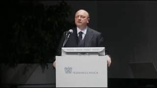 Assemblea Generale Federmeccanica 2016 - Presidente Confindustria Vincenzo Boccia