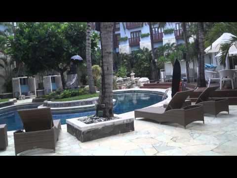 Hard rock hotel,Bali,Kuta.Pool access area.