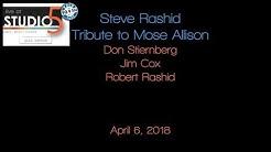 Live at Studio5: Steve Rashid tribute to Mose Allison 04-06-18