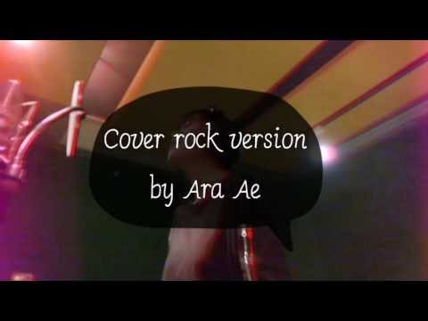 Chandelier cover rock version by Ara Ae - YouTube