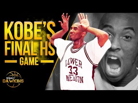 The Game Young Kobe Lead Lower Merion HS To State Championship   Kobe's Last HS Game   SQUADawkins