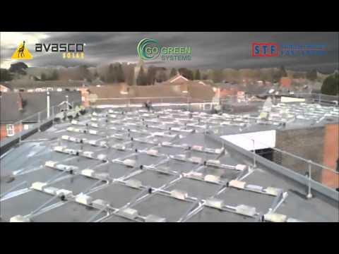Go Green Systems Ltd roof top solar installation