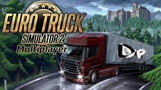 MP - Первая поездка // Euro Truck Simulator 2.  #12 (руль logitech g29)