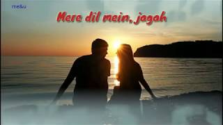 Mere dil mein jagah, khuda ki khalli thi || Sapna jahan || Whatsaap status
