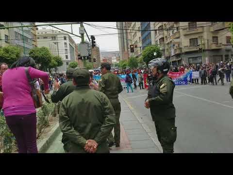 La Paz Boliva Riots Nov 9 2017