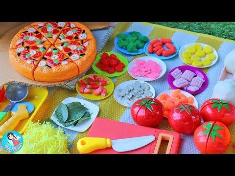 ละครสั้น เปิดร้านทำพิซซ่า แป้งโดว์พิซซ่า ของเล่นทำอาหาร ร้านอาหารสำหรับเหล่าฮีโร่และเจ้าหญิง