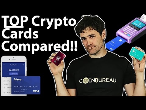 Crypto Visa Cards COMPARED: Side-by-Side 💳