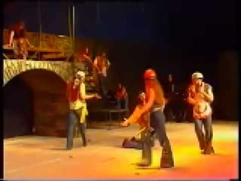 Stas Namin Theatre. Musical Hair. Review. News. Russian TV. 1999