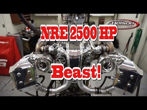 2500 HP TT 632 for 1955 Chevy Bel air from Nelson Racing Engines.  Australian Cusromer.  Tom Nelson.
