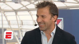 Italian football legend alessandro del piero joins espn fc on set at mls media day to discuss an array of topics, including:(0:16) his post-career life in lo...