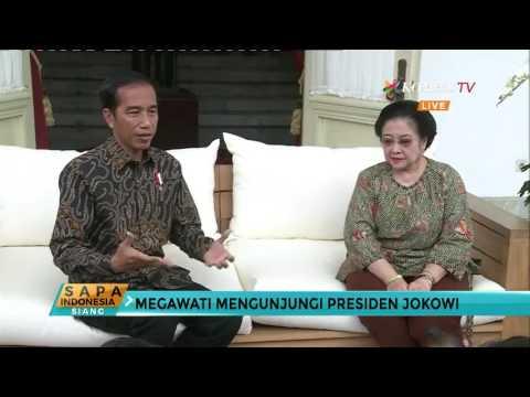 Megawati Kunjungi Jokowi, Inilah Yang Dibicarakan