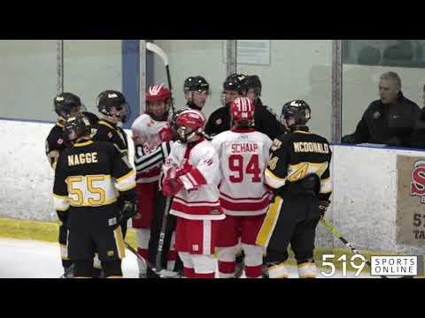 Major Midget AAA - Burlington Eagles vs Guelph Jr. Gryphons from YouTube · Duration:  3 minutes 11 seconds