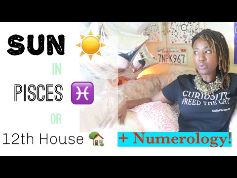 ☀️♓️ Sun In Pisces + Numerology Life Path    #Pisces #Astrology #Numerology #Life #Path
