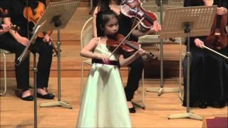 Concerto Gala Concert 2015 Miss Charlotte Lee