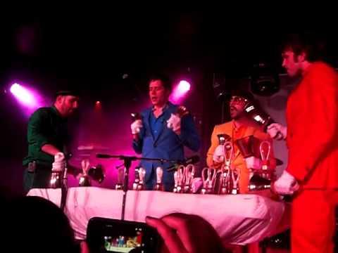 OK Go - Return live with bells @ Avalon nightclub 2/8/11