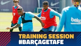 Back to work to prepare for the last home game of the season against Getafe