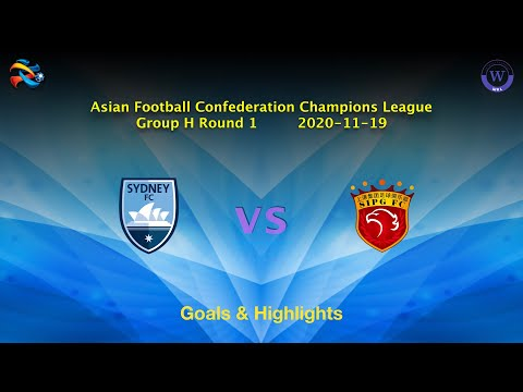 Sydney Shanghai SIPG Goals And Highlights