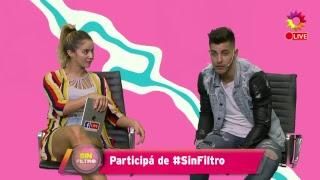 #SinFiltro: Flor Vigna jugó al pictionary con Lhoan
