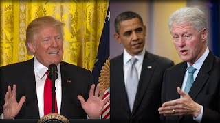 IT'S OVER: TRUMP JUST WENT NUCLEAR ALL OVER OBAMA AND CLINTON'S LEGACY