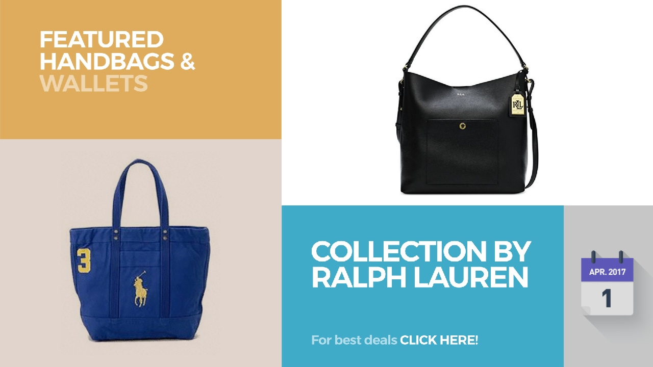 4be3023baa Collection By Ralph Lauren Featured Handbags   Wallets - YouTube