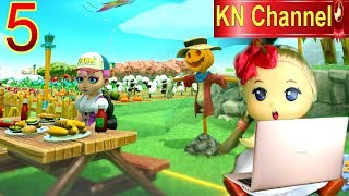 Trò chơi KN Channel FARM TOGETHER  tập 5 | LÀM CON BÙ NHÌN TRONG NÔNG TRẠI BÉ NA
