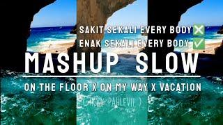 MASHUP - On The Floor X On My Way X Demon Vacation X Al Falls Down ( Ikyy Pahlevii )